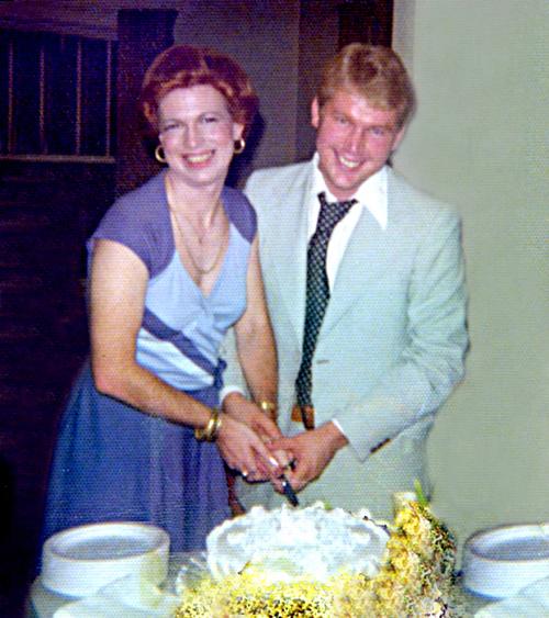 1st Anniversary Rip & Marsha Naquin-Delain 1974