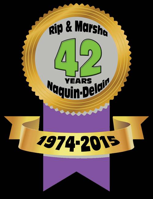 Rip & Marsha Naquin-Delain Logo