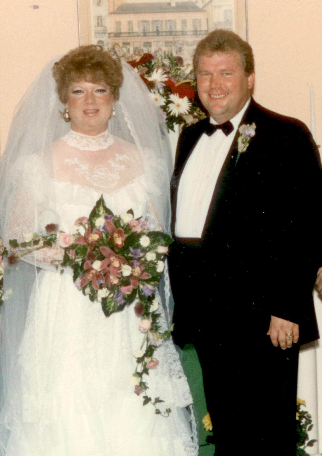 12th Anniversary Rip & Marsha Naquin-Delain 1986